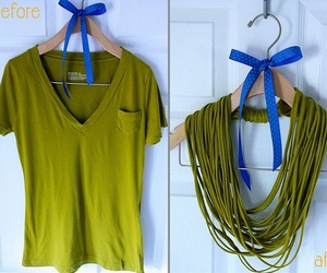 diy, scarf, and necklace image
