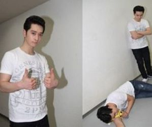2PM, chansung, and taecyeon image