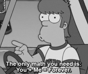 love, forever, and math image