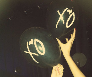 balloons, xo, and the weeknd image