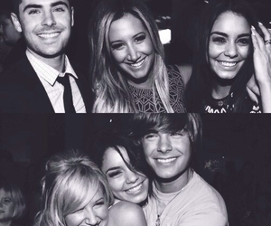 zac efron, ashley tisdale, and vanessa hudgens image