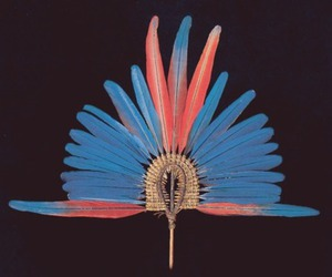 art, native american, and blue image
