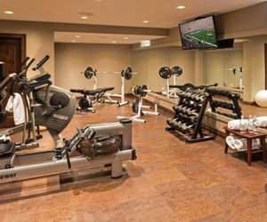 gym and home image