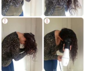 hair, diy, and beauty image