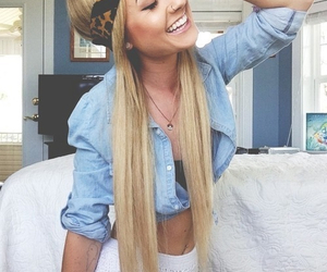 pretty, blonde, and hipster image