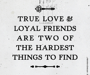 quote, friends, and true love image