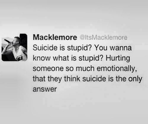bully, stop, and suicide image