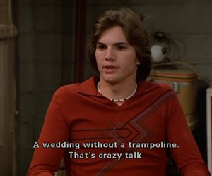 that 70s show, kelso, and ashton kutcher image