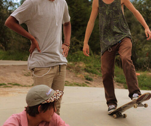 cute guy, cuties, and skateboards image