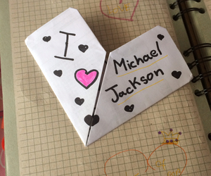 i, michael jackson, and love image