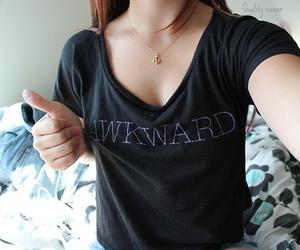 girl, awkward, and hair. reed image