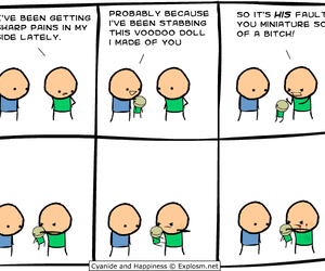 cyanide, happiness, and voodoo image