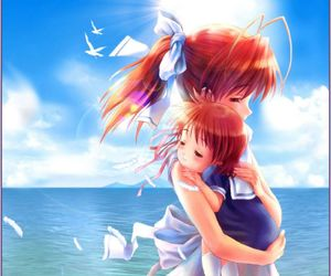 anime, clannad, and mother image