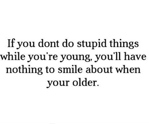 young, quote, and smile image