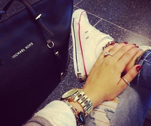 converse, fashion, and Michael Kors image