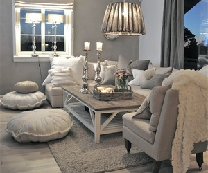 clean, living room, and lovely image