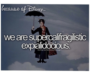 disney, Mary Poppins, and because of disney image