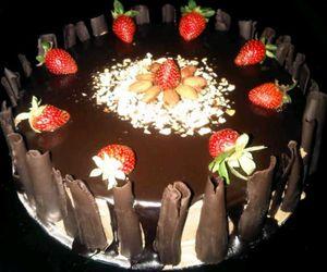 almond, cake, and yummy image