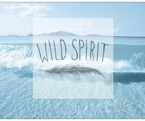 wild, beautiful, and blue image