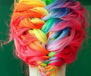 hair ideas and love image