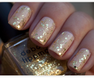 nails, pretty, and unhas image