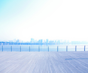 blue, photography, and scenery image