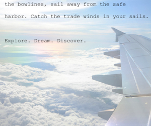 airplane, discover, and Dream image