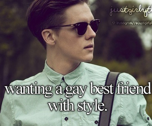 best friends, gay, and style image