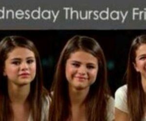selena gomez, days, and week image