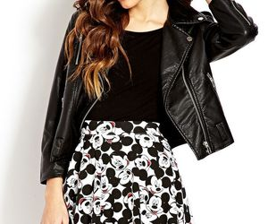 mickey mouse and hey mickey skater skirt image