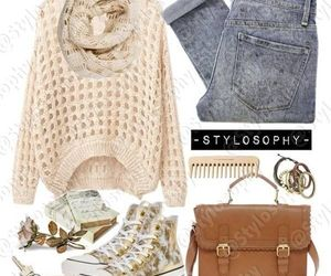 cardigan, neutral, and spring image