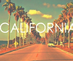 summer, california, and beach image
