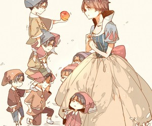 levi, snowhite, and rivaille image