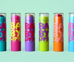 baby lips, lips, and Maybelline image