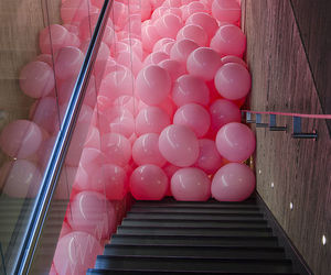 balloons, fab, and pink image