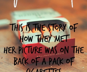 fall out boy, Lyrics, and cigarette image