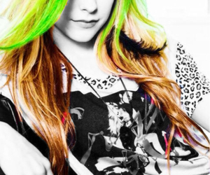 Avril Lavigne, beautiful, and blue image