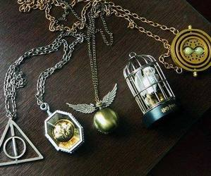 harry potter and necklace image
