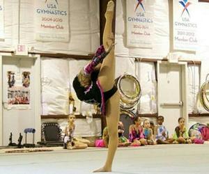 awesome, needle, and hard rhythmic gymnastics image