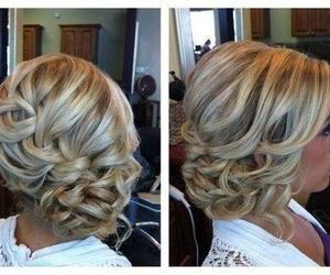 hair, pretty, and braid image