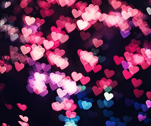 heart, hearts, and pink image