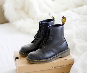 boots, fashion, and dr martens image
