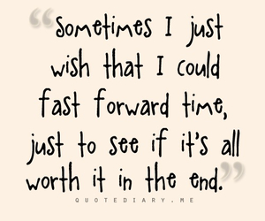 life, quote, and fast forward image