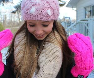 girl, winter, and tumblr image