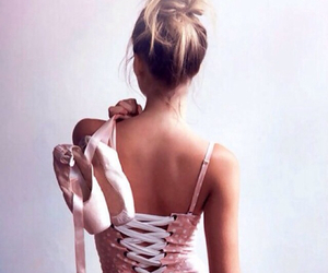 ballerina, blonde, and passion image