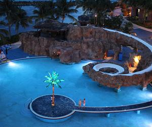 pool, luxury, and paradise image