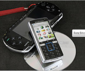 cell, sony, and mobiles image