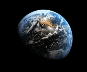 earth, planets, and space image