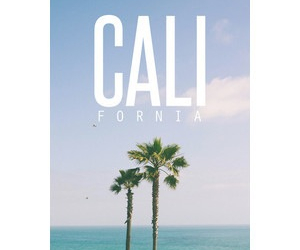california, cali, and summer image