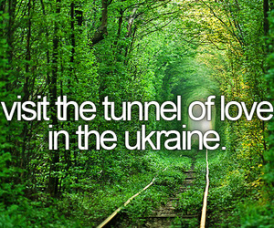 ukraine, bucket list, and love image